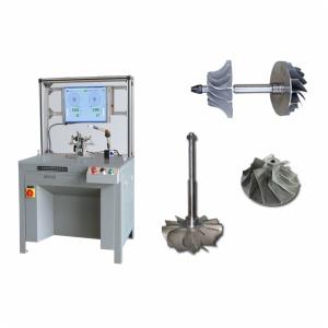 Máquinas de equilibrado de rotores de turbocompresor