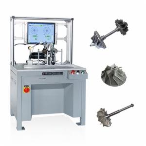 Máquina de equilibrio Especialmente para turbocompresor